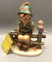 "Vintage Hummel Goebel W. Germany 1938 ""Wayside Harmony"" Boy On Fence 111/1"
