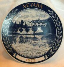 Manzanita Hall University of Nevada Plate 1973