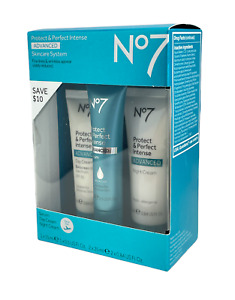 No7 Protect & Perfect Intense Advanced Skincare System 3 Pieces NEW IN BOX