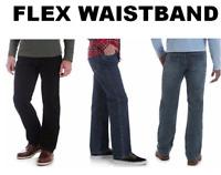 Men's Wrangler Authentics  Regular Fit Comfort Flex Waistband Jean - All Sizes