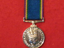 Miniature Royal Fleet Auxiliary LSGC Medal EIIR with ribbon in Mint Condition