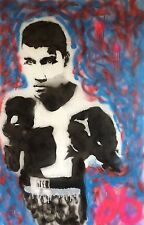 MAX DB: BOXING MAN - ABSTRACT GRAFFITI ART - BELGIAN