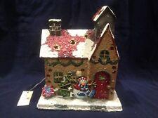 Nwt Home Interior Christmas Cottage Snowman Lantern