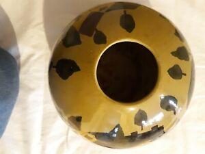 Toyo trading co. New country gear.  Orb farm scene vase.
