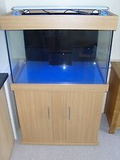 "Marine Tank 36""x24""x24"" 3Ft Reef Aquarium & Cabinet, Built To Order, UK Quality!"