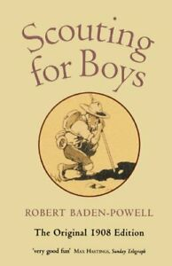 Scouting For Boys: A Handbook for Instructi... by Baden-Powell, Robert Paperback