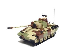 Brickmania Retired Lego Set - Panther Ausf G In Ambush Camo