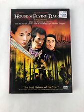HOUSE OF FLYING DAGGERS (DVD) Zhang Yimou, Zhang Ziyi - BRAND NEW!