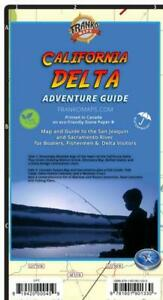 California Delta Adventure Guide Waterproof Map