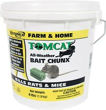 Tomcat All Weather Bait Chunx Mouse Poison 4 Lb Rats Mice Killer Food Rodent