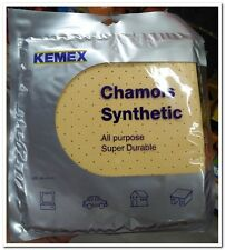 CHAMOIS SYNTHETIC DRYING CLEANING ABSORBENT CAR WASHING WIPE WASH CHAM 38x40 CM