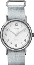 Timex Women's Weekender Quartz Silver Tone Resin/Metallic Nylon Watch TW2R92500