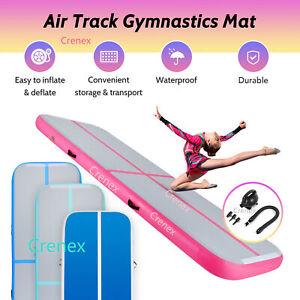 3-6M Inflatable Air Track Gymnastics Tumbling Mat Yoga Mats / With Electric Pump