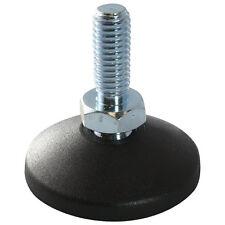 MINI Gelenkfuß Gelenkstellfuß Stellfuß 40 PA GewindestangeSpindel M8x60mm Stahl