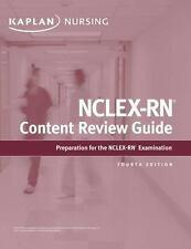 Kaplan Test Prep: NCLEX-RN Content Review Guide by Kaplan Nursing (Firm)...
