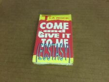 T LA ROCK COME AND GIVE IT TO ME FACTORY SEALED CASSETTE SINGLE