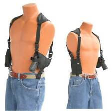 Shoulder Holster fits AMT Backup 380 Pro-Tech Black Nylon Double Mag Pouch