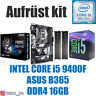 PC Bundle Kit Set 💙 Intel Core i5 9400F ✔ ASUS B365 Mainboard ✔ DDR4 16GB ✔
