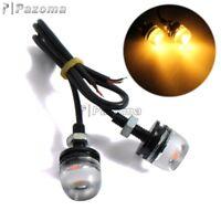 12V LED Eagle Eye Lamp License Plate Daytime Running Light For Motorcycle Car