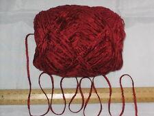 100g Bola Rusty Roja DK británico Acrílico Chenille Doble tejidos hilados de lana suave