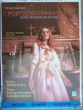 SOUS LE SOLEIL DE SATAN-DEPARDIEU/BONNAIRE-YU POSTER'87