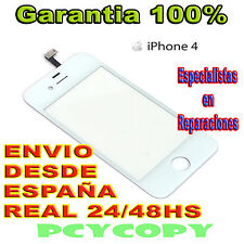 PANTALLA  TACTIL PARA IPHONE 4 4G 4S DIGITALIZADOR CRISTAL TOUCH SCREEN BLANCO N