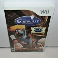 Disney's Ratatouille (Nintendo Wii, 2007) Complete with Movie Ticket Tested