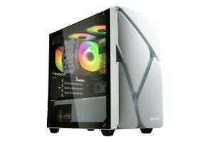 Enermax MARBLESHELL MS20 Mini-Tower ARGB PC Case - White