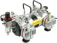 Airbrush Kompressor 4Zylinder AS48 78L/min wartungsfrei Airbrushkompressor 02506