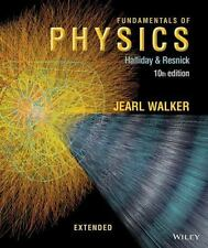 Fundamentals of Physics Extended 10th Int'L Edition