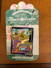 Epcot Flower and Garden Festival 2018 Annual Passholder Figment Pin