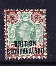 BECHUANALAND QV 1897 SG64 4d of GB opt - very lightly mounted mint. Cat £28