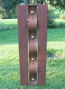 Sichtschutz Wand Edelrost - Edelstahl - Rost 50 x 155 cm - Hingugger!