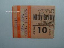 NITTY GRITTY DIRT BAND 1975 Concert Ticket Stub KU HOCH AUDITORIUM Lawrence KS