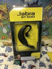 Jabra Bt500 Bt 500 Bluetooth Headset with Accessories - *New*