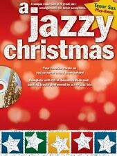 A Jazzy Christmas Tenor Sax Book and Cd New 014037682