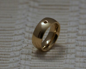 Qudo Famosa Ring Wide  - Gold/Plated- Interchangable Swarovski Crystals