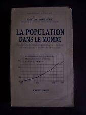 La population dans le monde - Les grands événements historiques, guerre et popul