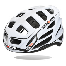 Suomy Cycling Helmets Gun Wind S-line| White/Black|BRAND NEW
