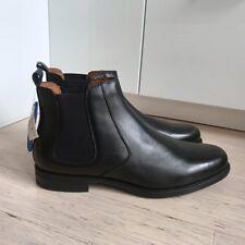 Florsheim Men's Ortholite Black Leather Dress Boots - AUS 12