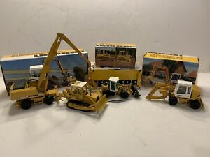 NZG CONRAD LIEBHERR MODEL SET