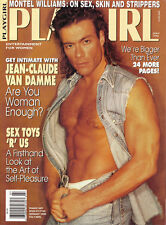 PLAYGIRL July 1993 JEAN CLAUDE VAN DAMME Doug Koziak MONTEL WILLIAMS Mark Kovak