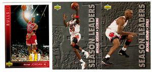 1993-94 UPPER DECK 510-CARD BASKETBALL SET includes 13 MICHAEL JORDAN & ROOKIES