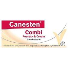 Canesten Combi 3047719 Pessary Cream 10-Gram