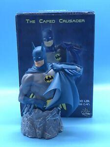 2004 DC Direct The Caped Crusader Batman Mini Bust Statue