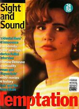 Sight and Sound Magazine April 1993 Federico Fellini Interview Zombie Movies