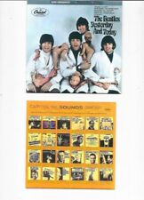 THE BEATLES YESTERDAY AND TODAY BUTCHER COVER CD ST-2553 MONO AND STEREO