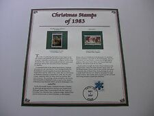 20 Cent Niccolini-Cowper Madonna and Santa Claus 1983 Christmas Stamps