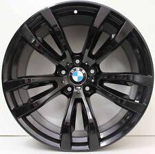 20 inch Genuine BMW X5 / X6 F15 M SPORT 2015 MODEL ALLOY WHEELS IN CUSTOM BLACK