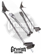 Weld On Triangulated 4 Link Rear Suspension Kit Universal Hot Rod Air Ride